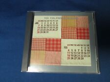 JANOME sewing embroidery machine card Calendar Designs 105