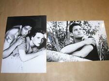 LOT 2 RARES PHOTOS DE STARS / DALE MIDKIFF + ADAM WOROVITZ + AMY LOCANE
