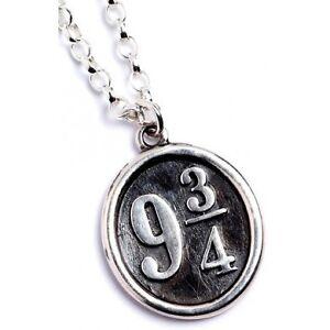 NEW Official Licensed Harry Potter St. Silver Platforn 9 3/4 Pendant Necklace