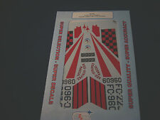 SUPER SCALE DECALS F-102 DELTA DAGGERS 4TH FIS JAPAN 526TH GERMANY 48-388 1:48