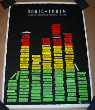 Olly Moss Sonic Youth San Diego Poster Signed Numbered Print 160 die hard