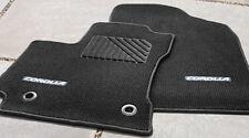 2014 Toyota Corolla Carpet Floor Mats, 4pc  Black W/Silver, M/T, PT206-02143-21