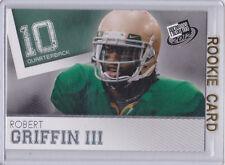 RG3 Robert Griffin III Baylor Bears NCAA COLLEGE RC Football #10 ROOKIE CARD