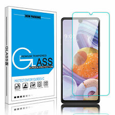 For LG Stylo 6 5 Premium Tempered Glass Clear Screen Protector Guard Cover Film
