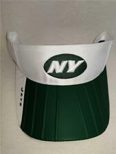 New York Jets Adult Mens OSFA Reebok White Green Golf Visor Hat