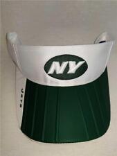 849348d1911 New-Flawed New York Jets Adult Mens OSFA Reebok White Green Golf Visor Hat