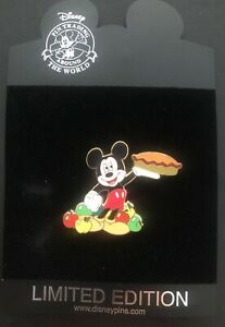 Disney Trading Pin Mickey Fall Harvest Series Limited Edition 250 98754