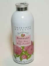 Crabtree & Evelyn Rosewater Talc-Free Body Powder 2.6 oz Discontinued SEALED