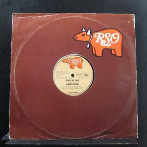 "Jimmy Ruffin - Night Of Love 12"" 45 RPM VG+ 2141-272 UK 1980 Vinyl Record"