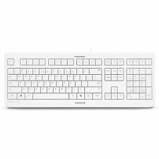 Cherry Kc 1000 Keyboard - Cable - Light Gray - Usb - English [us] - (jk0800eu0)