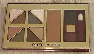Estee Lauder Deluxe Eye & Cheek Palette Soft Neutrals  EIGHT Shadows + Bronzer