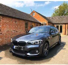 BMW 1 Series F20/F21Facelift FRONT LIP SPLITTER 2015 Upwards M-Power V.1