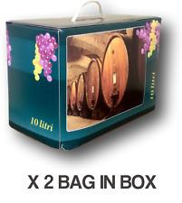 Vino Bianco Risacca Bag in Box lt.10 (2 pz) - Vini Sfusi Sardegna -