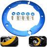 CACHE POULIE Courroie De Transmission YAMAHA T-MAX 530 / ABS 2012 a 2015 bleu