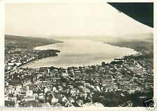 N°69 ZEPPELIN Zurich Switzerland Schweiz Suisse Dirigible AIRSHIP CARD IMAGE 30s