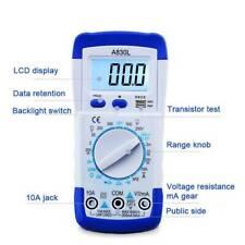 Digital Multimeter Voltmeter Ammeter LCD AC DC   Tester  h
