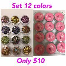 Glitter Mix Nails nail glitter acrylic mezclas mixes decoracion art uñas brillo