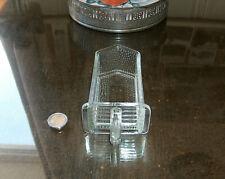 alte kleine Poncet-Glasschütte oder Vorratsgefäße der 50er oder 60er Jahre