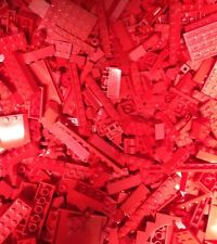 5X POUNDs RED Lego Bricks Parts Pieces / Five LBs / Red Legos / 5LB
