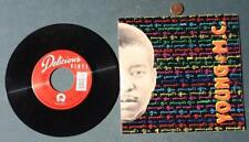 Hip-Hop Bust a Move Star Young M.C. autographed Principal's Office 45 RPM record