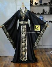 Chinese Men's Han Clothing Emperor Prince Show Cosplay Suit Robe Costume Hanfu
