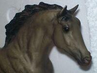 Breyer Traditional Black Beauty mold - Donovan gray dun roan appaloosa