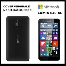 Cover batteria posteriore COPRIBATTERIA Originale LUMIA 640 XL - NERO opaco