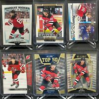 Jack Hughes 6 Card Lot OPC Marquee Rookie Platinum Upper Deck Young Guns