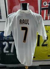 Maillot jersey shirt real madrid spain om zidane raul 2004 2005 04/05 L vinatge