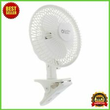 Fan Clip On Portable Mini Electric Cooling Oscillating Small Table Desk Speed
