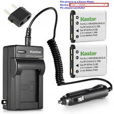 Kastar Battery AC Charger for Fuji NP-45 NP-45S BC-45B Fujifilm FinePix XP140