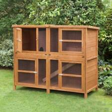 5ft Chartwell Double Rabbit Hutch / Guinea Pig Hutch Made In The UK