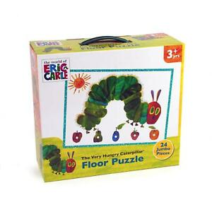 University Games VERY HUNGRY CATERPILLAR 24PC FLOOR PUZZLE Kids Toy Puzzle BN