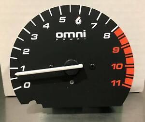 Omnipower Gauge Tach Replacement 8K RPM w/Shift Light for 96-00 Honda Civic EK