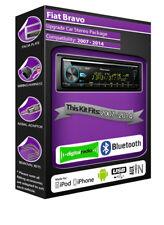 Fiat Bravo DAB Radio, Pioneer Stereo CD USB AUX Player, Bluetooth Satz