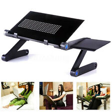 Portable Foldable Laptop Notebook PC Table Stand Bed Tray Folding Adjustable360°