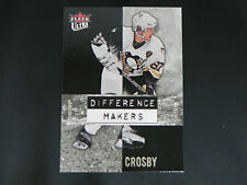 2007-08 Fleer Ultra Difference Makers Sidney Crosby Pittsburgh Penguins