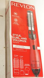REVLON 1200 W STYLE, CURL, AND VOLUMIZE HOT AIR KIT, NEW