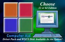 Windows Vista - Install - Restore - Repair - Recovery - DVD - Pick 32/64 Version