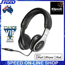 Klipsch Reference On-ear Headphones Headset With Mic Volume Control for iPhone