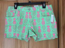 NWT TOTAL GIRL SHORTIE SHORTS - GIRLS - RET $30 - 18 1/2 PLUS - LIME  (5BX62 03)