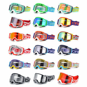 Motorcycle Goggles Motocross Racing ATV MX Dirt Bike Off Road Cycling Eyewear
