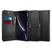 Spigen Premium Wallet Case for iPhone XR - Black
