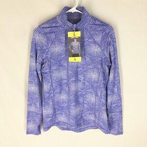 KIRKLAND SIGNATURE Jacket Size Small NEW WITH TAGS Womens Yoga Run Jog Blue