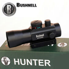 Hot Bushnell 3x42RD Holographic Red/Green Cross Dot Sight Rifle Laser Scope