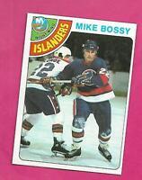 1978-79 TOPPS # 115 ISLANDERS MIKE BOSSY  ROOKIE NRMT-MT CARD (INV# D7236)