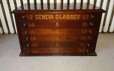 Antique Optical Medical Eyeglasses Multi Drawer Cabinet Geneva Glasses