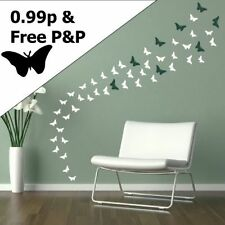 Pegatinas y plantillas de pared con animales e insectos para el hogar