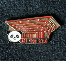 2010 China Destination Imagination DI Trading Pin