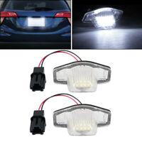 2x LED Kennzeichenbeleuchtung für Honda Jazz 2002+ Odyssay CR-V Insight ab 2010